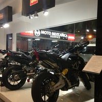 Photo taken at moto meccanica by Noel N. on 8/8/2013