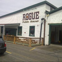 Photo taken at Rogue Ales Public House by Erik B. on 8/3/2013