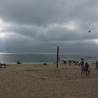 Photo taken at Laguna beach by Rawan A. on 2/20/2014