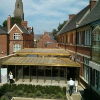 Photo taken at King Richard III Visitor Centre by Antonio D. on 7/26/2014