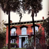 Photo taken at Mercer Williams House by sandra r. on 1/9/2017