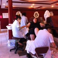 Photo taken at unique nails by Christopher A. on 11/25/2012