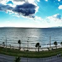 Photo taken at Coral Hotel by Sinem Ayıkcan Y. on 10/18/2013