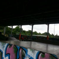 Photo taken at Skate park by Fanda Fanu P. on 7/13/2014