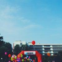 Photo taken at Πλατεία Χημείου by Iris on 5/16/2015