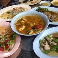 Photo taken at ร้านขาหมูบางรัก by Gpangpa on 5/30/2015