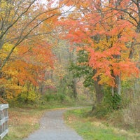 Photo taken at Deckers Creek Rail Trail At Breakiron Hill Rd by Cindy H. on 8/2/2013