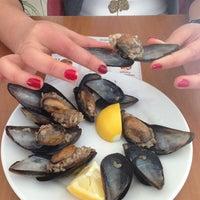 Photo taken at hamsi finger by Ceren C. on 2/8/2014