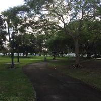Photo taken at Plantation Veterans Memorial Park by Cesar P. on 12/24/2016