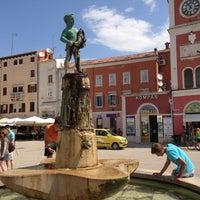 Photo taken at Fontana u Rovinju by Cesar P. on 7/8/2013