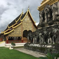 Photo taken at Wat Chiang Man by Cesar P. on 7/12/2017