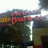 Photo taken at Pierce's Pitt Bar-B-Que by Ztate 0. on 8/31/2013