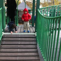Photo taken at First & First Playground by Ebai K. on 11/3/2012