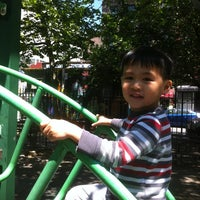 Photo taken at First & First Playground by Ebai K. on 5/27/2013