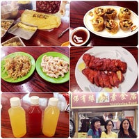 Photo taken at Fat Yau Yuen Vegetarian Restaurant 佛有緣 by Zoe L. on 9/28/2013