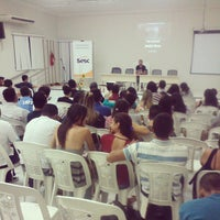 Photo taken at Biblioteca Faculdades INTA by Jonas D. on 9/10/2014