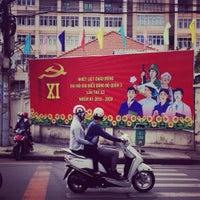 Photo taken at Nguyen Huu Canh Str by Carmen A. on 7/16/2015
