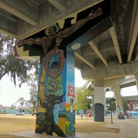 """Photo taken at Chicano Park by Z. """"Online"""" on 8/11/2016"""