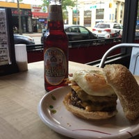 Photo taken at F. Ottomanelli Burgers and Belgian Fries by Raymond L. on 6/1/2017