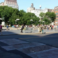 Photo taken at Union Square Park by Walter F. R. on 6/29/2013
