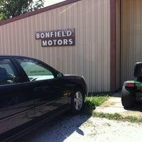 Photo taken at Bonfield Motors by Katie K. on 8/13/2013