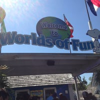 Photo taken at Worlds of Fun by Jennifer L. on 8/10/2013
