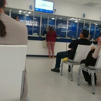 Photo taken at BBVA Bancomer by Miguel M. on 10/4/2016