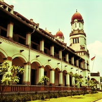 Photo taken at Lawang Sewu by Hwadi P. on 3/13/2013