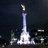 Photo taken at Monumento a la Independencia by Oscar C. on 8/15/2013