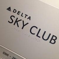 Photo taken at Delta Sky Club by Preston B. on 6/10/2013