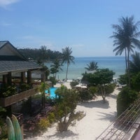 Photo taken at Haadlad Prestige Resort And Spa Koh Phangan by Frits K. on 5/1/2014