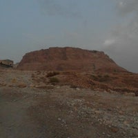Photo taken at Masada by Andrew D. on 9/30/2012