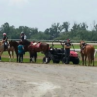 Photo taken at Ajax Downs by Satinder S. on 7/1/2014