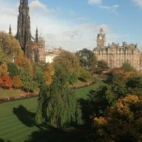 Photo taken at West Princes Street Gardens by Cecília D. on 10/25/2013