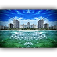Photo taken at Bal Harbour Jetty by Harold D. R. on 7/13/2013