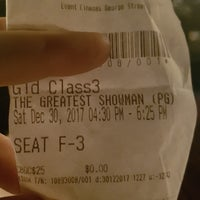 Photo taken at eVent Cinemas Gold Class by Bronwyn C. on 12/30/2017