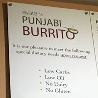 Photo taken at Avatar's Punjabi Burritos by Christopher S. on 1/30/2017
