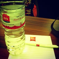 Photo taken at Hotel ibis Bandung Trans Studio by Melati M. on 12/1/2012