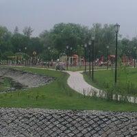 Photo taken at Детская площадка на Бережке by Kostya S. on 6/8/2013
