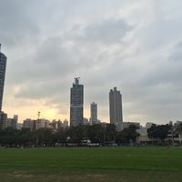 Photo taken at Tai Hang Tung Recreation Ground by Leo W. on 1/9/2016