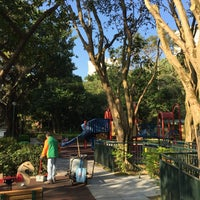 Photo taken at Wan Chai Gap Road Playground by Leo W. on 12/31/2016