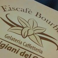 Photo taken at Eiscafè Bourbon by Riccardo B. on 4/23/2015