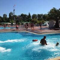 Photo taken at Turan Prince Aquapark by Mustafa Ş. on 10/24/2013