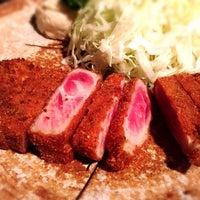 7/4/2015にMOMO®が牛かつもと村 渋谷本店で撮った写真