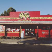 Photo taken at Rudy's BBQ by Brian H. on 9/21/2012
