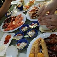 Photo taken at Vienna International Seafood & Teppanyaki Buffet Restaurant by June H. on 7/6/2014