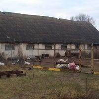 Photo taken at База отдыха «Парус» by Anya J. on 11/14/2013
