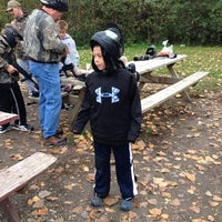 Photo taken at Gateway Paintball Park by Earl B. on 10/20/2012