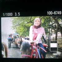 Photo taken at Jalan Diponegoro by Putri A. on 8/8/2013