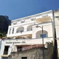 Photo taken at Palazzo Marzoli Resort Positano by Marc F. on 8/6/2013
